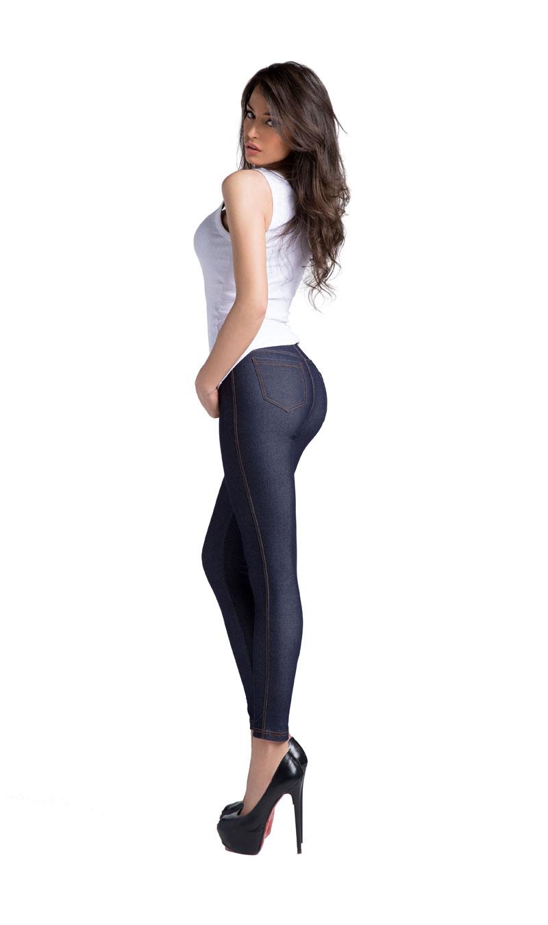 PD0926 Leggins donna jeans